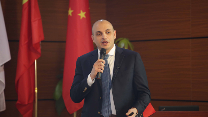 Baha'a Armouti Speaks At GTLA's Annual Meeting In Beijing