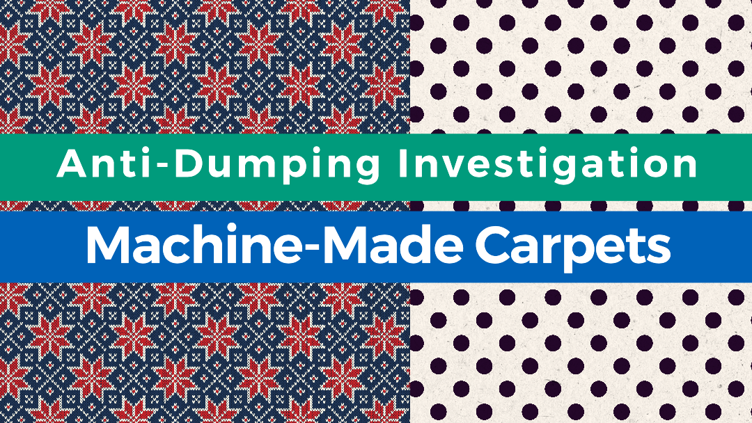 Egypt Initiates Anti-Dumping Investigation on Machine-Made Carpets From Turkey